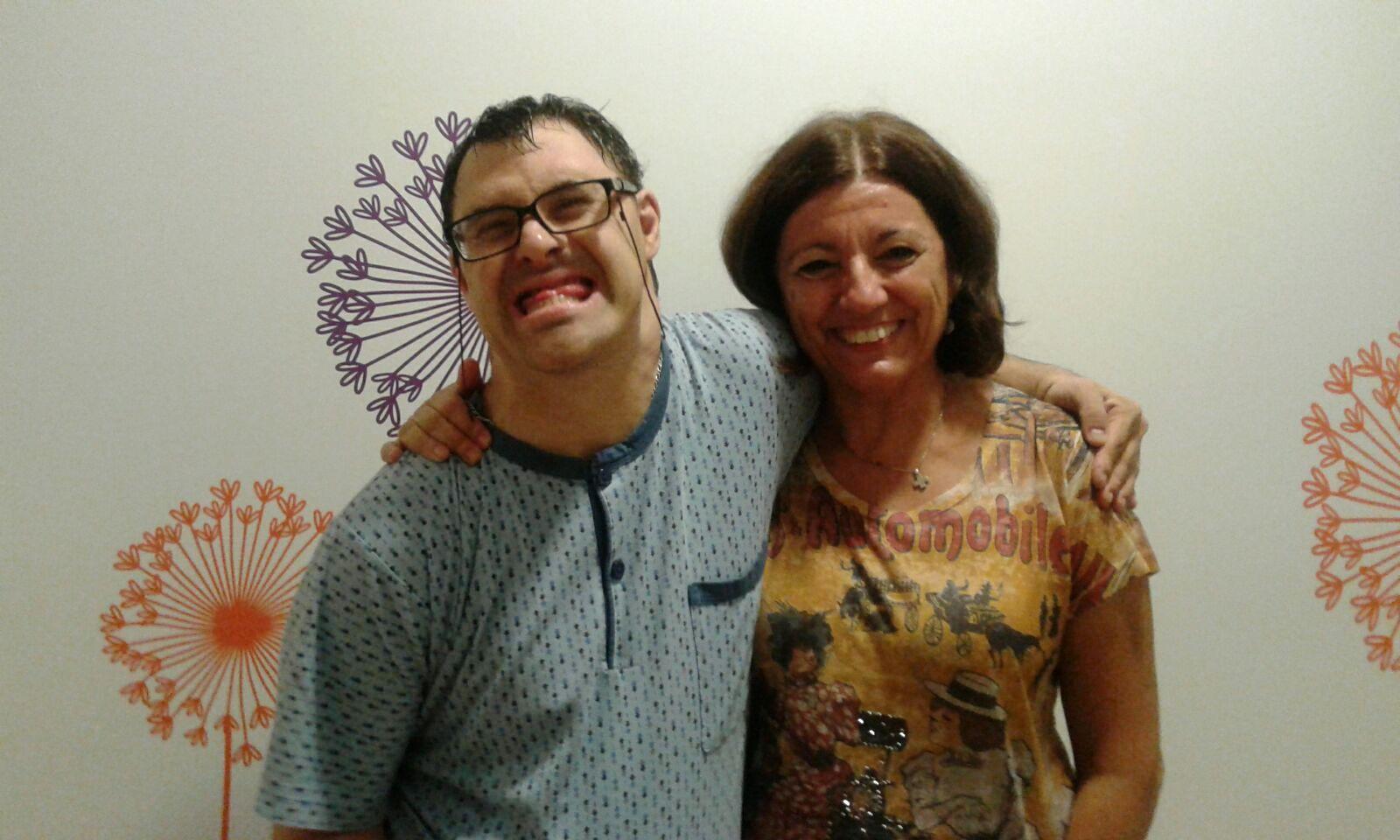 Ana y Miguel. Vivienda Gómez Trénor del Centro San Rafael
