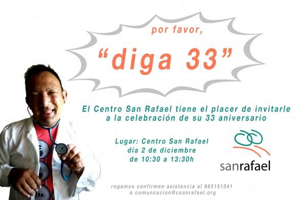 invitacion 33aniversario SanRafael