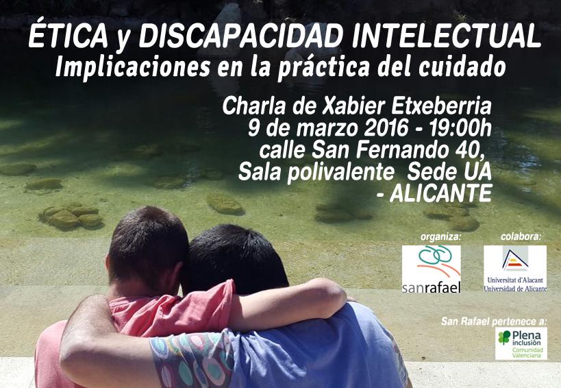 etica y discapacidad San Rafael