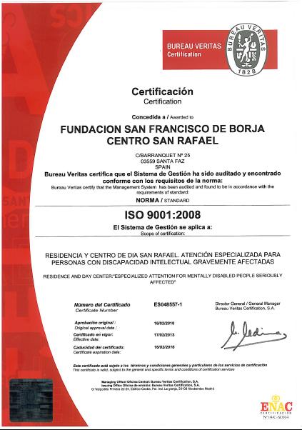 ISO 9000 SAN RAFAEL